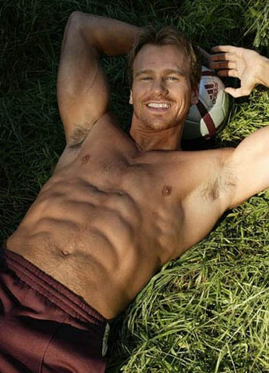 Your Hunk of the Day: Rusty Joiner